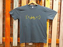 Tričká - Sivé Pánske tričko :) - 10492974_