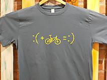 Tričká - Sivé Pánske tričko :) - 10492975_