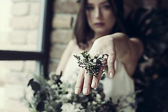Prstene - Prsteň Greenery - 10492689_