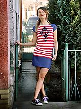 Šaty Folk Stripe