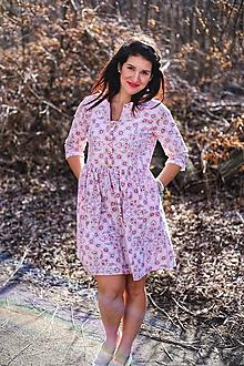 Šaty - Šaty ME TOO - romantic pink - 10493244_
