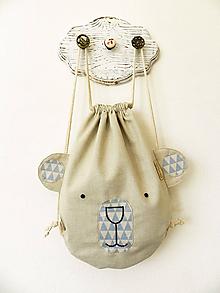 Detské tašky - Ruksačik Maco, 3-6rokov - 10490351_