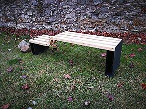 Nábytok - Dizajnérska lavička - 10492377_