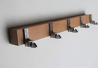 Nábytok - Vešiak kovové úchytky - 10490922_