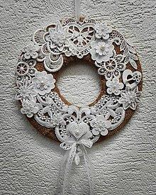 Dekorácie - Romantický venček - 10494604_