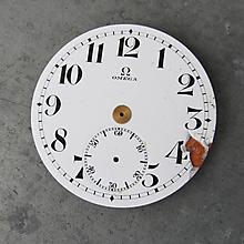 Odznaky/Brošne - OMEGA brož, originální smaltovaný ciferník - 10496518_