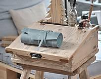 Papiernictvo - kožený rolovací peračník MAX - 10494649_