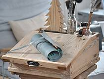 Papiernictvo - kožený rolovací peračník MAX - 10494650_