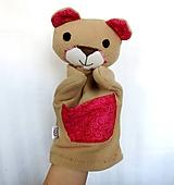 Maňuška medveď - Macko od Červenej vrtuľky