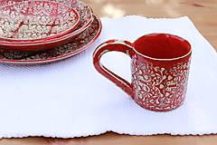 Nádoby - Šálka - ľudová kolekcia - 10496431_