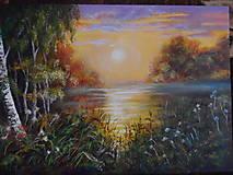 Obrazy - Ticho tečie rieka - 10494165_