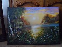 Obrazy - Ticho tečie rieka - 10494166_