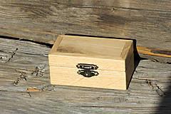 Krabičky - krabička na prstene - 10494592_