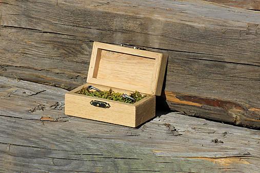 krabička na prstene