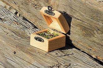 Krabičky - Bukova krabička - 10494505_
