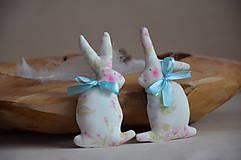 Dekorácie - Zajačiky - 10495702_