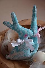 Dekorácie - Zajace - 10495782_
