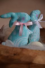 Dekorácie - Zajace - 10495786_