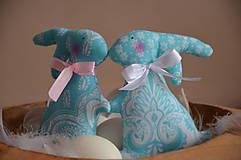 Dekorácie - Zajace - 10495787_