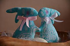 Dekorácie - Zajace - 10495788_
