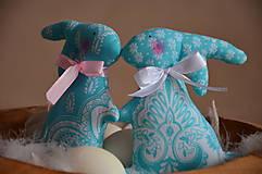 Dekorácie - Zajace - 10495789_