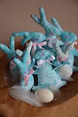 Dekorácie - Zajace - 10495790_