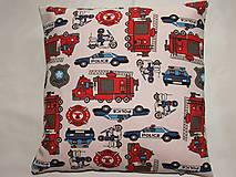 Úžitkový textil - Obliečka - záchranári - 10494366_