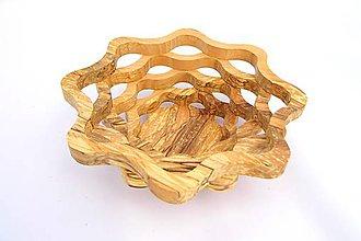 Nádoby - Drevená miska 23cm - 10493875_