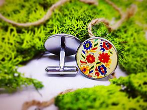 Šperky - Manžetové gombíky Ctibor 1 - 10496323_