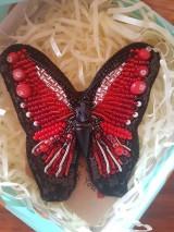 Odznaky/Brošne - Motýľ  - 10493889_
