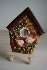 Dekorácie - Perníková vtáčia búdka - 10495160_