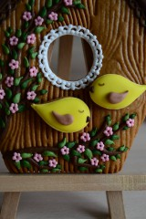 Dekorácie - Perníková vtáčia búdka - 10495161_