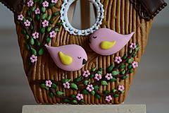 Dekorácie - Perníková vtáčia búdka - 10495162_