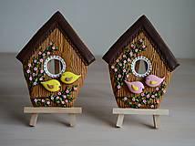 Dekorácie - Perníková vtáčia búdka - 10495173_