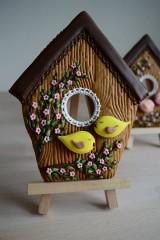 Dekorácie - Perníková vtáčia búdka - 10495176_