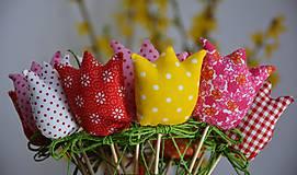 Dekorácie - Jarná dekorácia - tulipán - 10495213_
