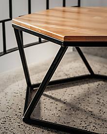 Nábytok - Štýlový konferenčný stolík - 10496333_