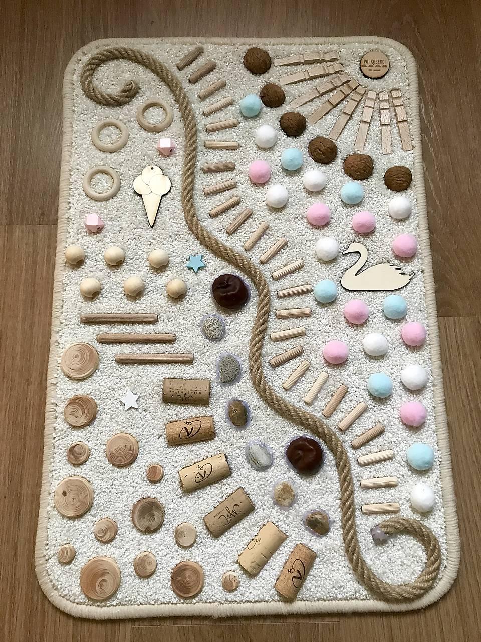 Senzomotorický koberček Marshmallow