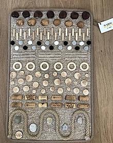 Detské doplnky - Senzomotorický koberec Nature - 10495623_