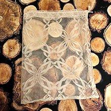 Úžitkový textil - Zero Waste záclonové vrecúško - 10496611_