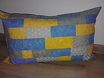 Úžitkový textil - Vankúš-zbytkúšik - 10496432_