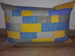 Úžitkový textil - Vankúš-zbytkúšik - 10496434_