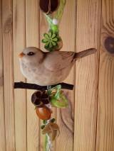 Dekorácie - Jarné vtáča - 10496195_