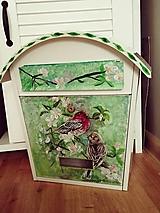 Dekorácie - Maľovaná poštová schránka - 10496469_