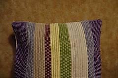 Úžitkový textil - Tkaná obliečka na vankúš - 10496556_
