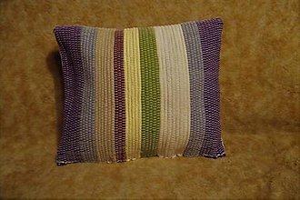 Úžitkový textil - Tkaná obliečka na vankúš - 10496552_