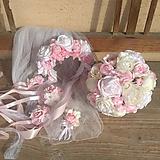 svadobná sada ružová...na želanie