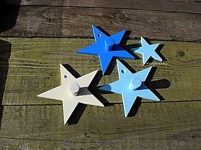Detské doplnky - vešiak hviezda - 10497734_