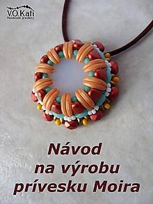 Návody a literatúra - Návod na výrobu prívesku Moira - 10498507_