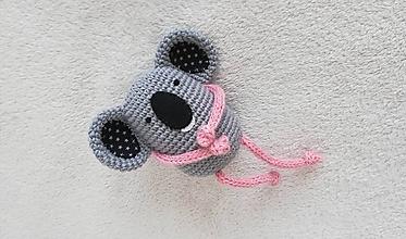 Hračky - Háčkovaná koala - 10499739_